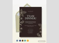 FREE Team Lunch Invitation Template: Download 856