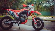 Modifikasi Motor Crf 150 by Modifikasi Motor Crf 150 Supermoto Keren