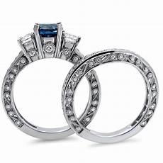 bestselling sapphire and diamond designer wedding
