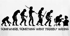 die evolution des menschen die evolution des menschen t shirt spreadshirt