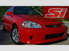 My 2000 Honda Civic Si Story 14th   YouTube