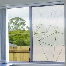 adhesif brise vue fenetre sticker occultant pour vitres et fen 234 tres motif prismes