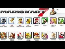 Mario Kart 7 Comment Avoir Tout Les Persos