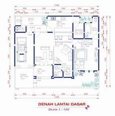 Denah Rumah Minimalis 2 Lantai Lebar 6 Meter