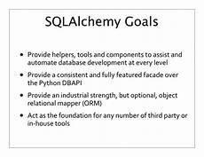 sqlalchemy insert if not exists else update introduction to sqlalchemy and orms pgopen 2013 speaker deck