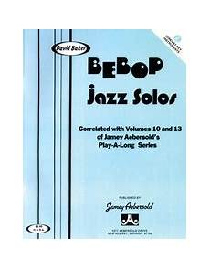 bebop scales jazz scales patterns in all 12 treble clef book