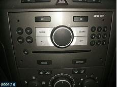 cd radio opel zafira 2007