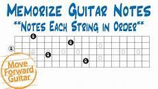 Memorize Guitar Notes Notes Each String In Order