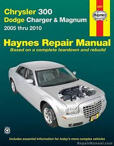 hayes car manuals 2009 dodge charger navigation system haynes chrysler 300 and dodge charger magnum 2005 2010 auto repair manual