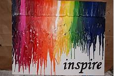 Being Inspired Day 12 Melted Crayon