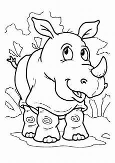 Bilder Zum Ausmalen Nashorn Ausmalbilder Nashorn 14 Ausmalbilder Tiere