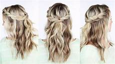 twisted crown braid youtube
