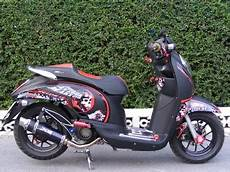 Modifikasi Scoopy by Kumpulan Modifikasi Motor Matic Honda Scoopy