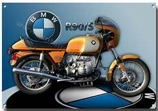 Bmw R90 S Motorcycle Metal Sign 1970 S Classic Bmw