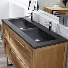 les concepteurs artistiques meuble sous vasque bois massif
