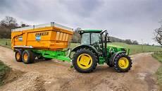 vidéo de tracteur vid 233 o essai du tracteur deere 5100r