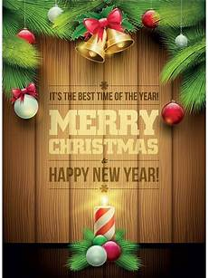 free vector merry christmas wooden background invitation card free vector in encapsulated