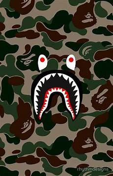 Bape Wallpaper Iphone 7 Plus by Bape Camo Shark Logo Some Pictures I Like In 2019