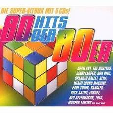 hits der 80er 80 hits der 80er 5 cd 2009 box pappschuber