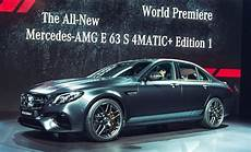 Up With 2017 Mercedes Amg E63 S