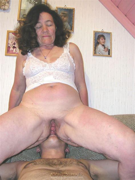 Grandma In The Nude