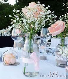 petit bouquet de fleurs pour table centre de table chic et l 233 ger et gypsophile d 233 co