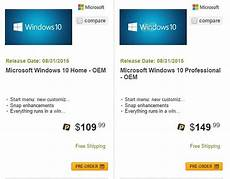 prix windows 10 windows 10 release date pricing tipped by retailer