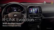 Renault R Link - r link evolution android auto eng