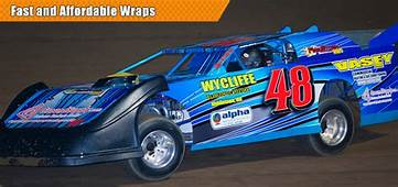 Race Car Numbers Decals Wraps