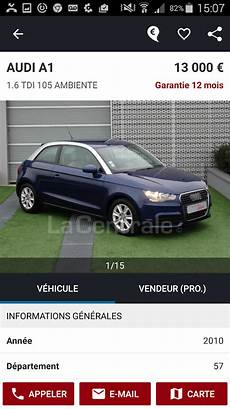 voitures d occasion la centrale la centrale voiture occasion android apps on play
