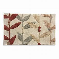 buy lacey multi colored leaf bath rug from bed bath beyond