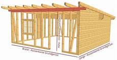 Gartenhaus Selber Machen - gartenh 252 tte mit dachterasse selber bauen