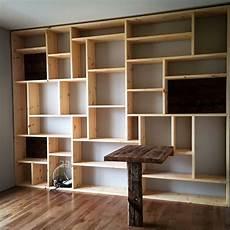 construire une biblioth 232 que murale en bois ly47 jornalagora