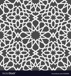 Arabische Muster Malvorlagen Xing Islamic Pattern Seamless Arabic Geometric Vector Image