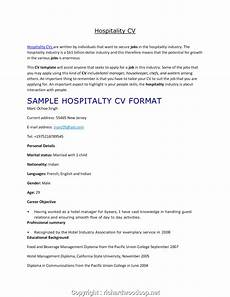 resume template hotel industry newest sle cv hotel management resume template hospitality industry cv for hotel industry
