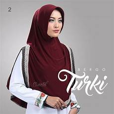 26 Inspirasi Jilbab Instan Renda Turki