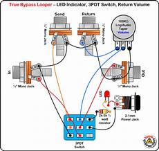 guitar effects wiring diagram stompboxed the guitar pedal builders repository switch effect wiring dpdt 3pdt spdt