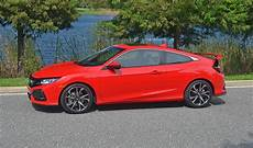 2017 honda civic si coupe review test drive