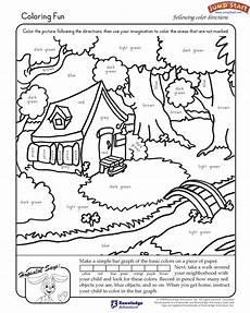 fun reading worksheets quot coloring fun quot kindergarten coloring worksheets for