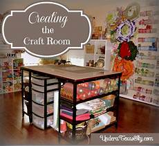 craft room with creative storage and work space solutions