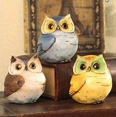 Beautiful Bird Owl Figurines Collectibles