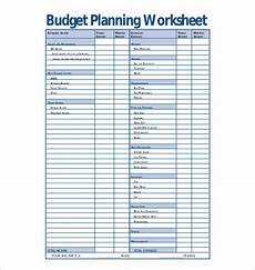 16 budget planner templates free sle exle format download free premium templates