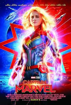 New Poster Of Captain Marvel Released The Asian Age