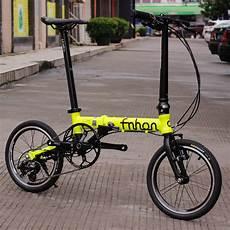 fnhon ant aluminum folding bike 16 quot mini velo bike v brake