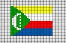 flag of comoros pixel art brik pixel art designs pixel art art flag