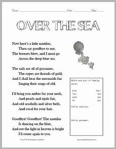 poetry worksheet for grade 5 25419 1000 images about ela language arts on cursive handwriting practice