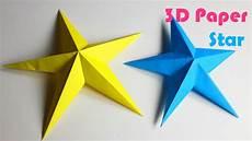 sterne basteln papier how to make simple 3d paper diy paper crafts