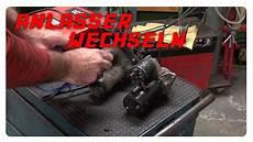 anlasser wechseln vectra b 1 6 16v