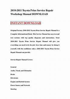 service repair manual free download 2004 toyota prius regenerative braking 2010 2011 toyota prius service repair manual download