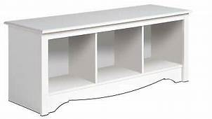 New White Prepac Large Cubbie Bench 4820 Storage Usd $ 114